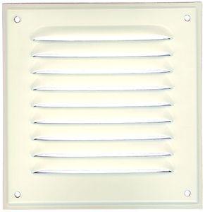 grille m tallique m tal laqu blanc grille de ventilation en 200 x 200 mm ald004. Black Bedroom Furniture Sets. Home Design Ideas