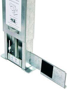 Accessoire pour chelle taquet d 39 chelle en acier - Taquet d echelle ...
