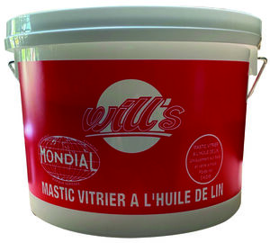 mastic de vitrier bo te 1 kg mastic l 39 huile de lin acajou soa102. Black Bedroom Furniture Sets. Home Design Ideas