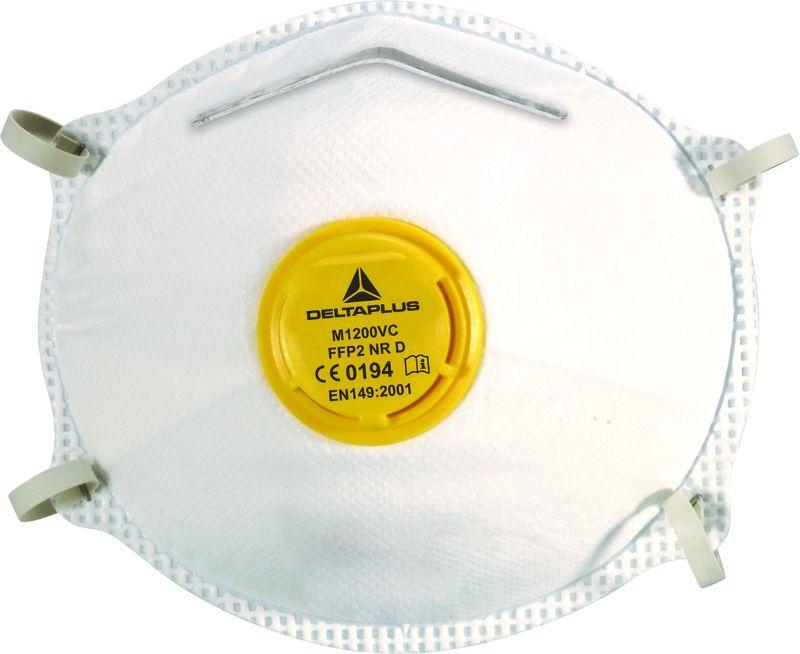 masque anti poussiere jetable ffp2