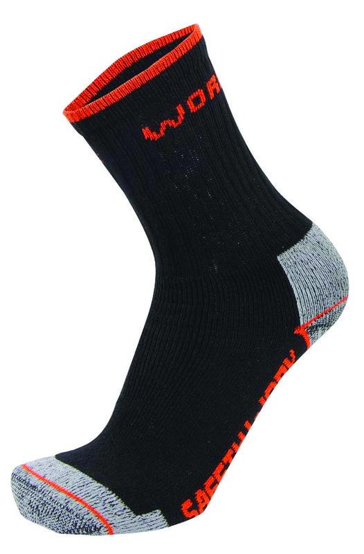 686ad812776 Lot de 3 paires de chaussettes safety works pointure 43 46 pour chaussures  basses