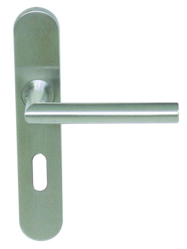 Coupé d/'onglet Poignée de porte pack 3 Levier Lock Set Satin Acier Inoxydable