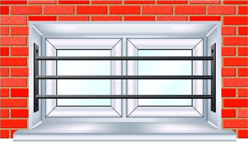 Grille De Défense Télescopique Pour Fenêtre Pour Une Fenêtre De 39 à