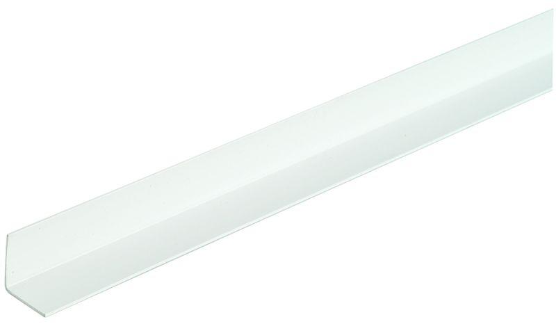Cornière Pvc En Pvc Blanc Longueur 2 60 M 40 X 40 X 1 5 Mm