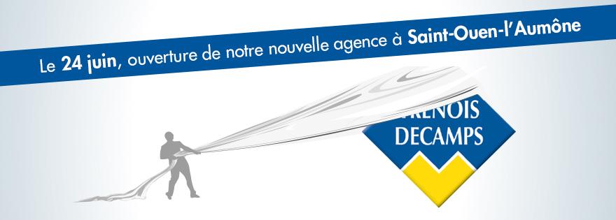 Ouverture de votre nouvelle agence à Saint-Ouen-l'Aumône